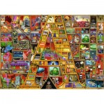 Puzzle  Ravensburger-19891 A