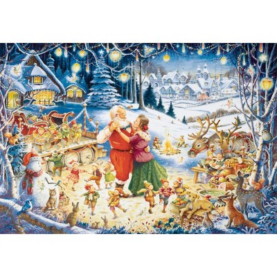 Puzzle  Ravensburger-19893 Santa's Christmas Party