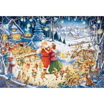 Puzzle Ravensburger-19893 Santa's Christmas Party