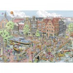Puzzle  Ravensburger-19924 Amsterdam