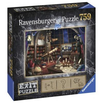 Ravensburger-19950 Exit Puzzle - Sternwarte