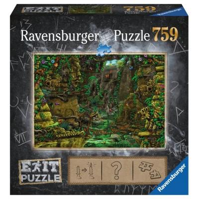 Ravensburger-19951 Exit Puzzle - Tempel in Angkor Wat