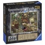 Ravensburger-19952 Exit Puzzle - Hexenküche