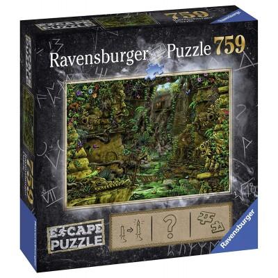 Ravensburger-19957 Exit Puzzle - Ankor Wat (auf Französisch)