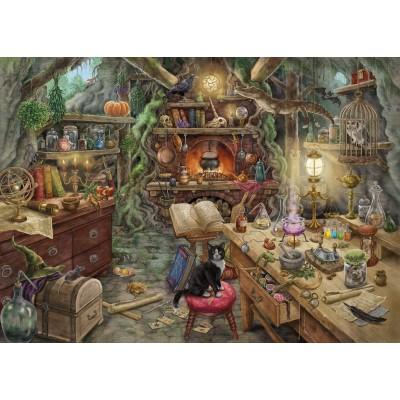 Ravensburger-19958 Escape Puzzle - Hexenküche (auf Französisch)