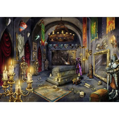 Ravensburger-19961 Escape Puzzle - La Chambre du Vampire (auf Französisch)