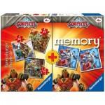 Ravensburger-20519 Multipack - Memory and 3 Puzzles - Gormiti