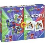 Ravensburger-21300 3 Puzzles + Memory - PJ Masks