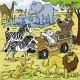 3 Puzzles - Abenteuer mit Mauseschlau und Bärenstark