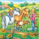 3 x 49 Teile Puzzleset - Bauernhoftiere
