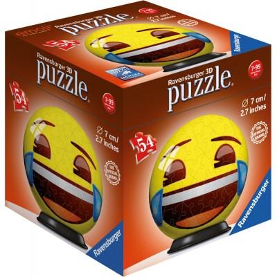 Ravensburger-72060-01 3D Puzzle - Emoji