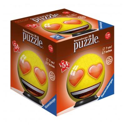 Ravensburger-72060-02 3D Puzzle - Emoji
