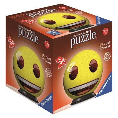 Ravensburger-72060-03 3D Puzzle - Emoji