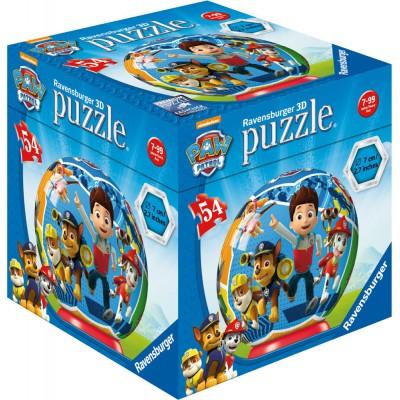 Ravensburger-72078-11917-03 3D Puzzle - Paw Patrol