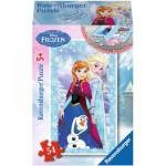 Ravensburger-73055-09455-03 Minipuzzle: Frozen - Die Eiskönigin