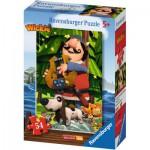Puzzle  Ravensburger-73296-09467-04 Wickie und seine Freunde