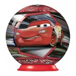 Ravensburger-79936-11920-01 3D Puzzle-Ball - Cars 3