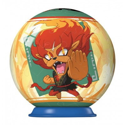 Ravensburger-79936-11922-04 3D Puzzle-Ball - Yo-Kai Watch