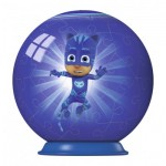 Ravensburger-79958-11924-01 3D Puzzle-Ball - PJ Masks