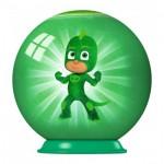 Ravensburger-79958-11924-02 3D Puzzle-Ball - PJ Masks
