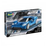 Revell-07678 Modellbau - 3D Puzzle Easy Click System - 2017 Ford GT