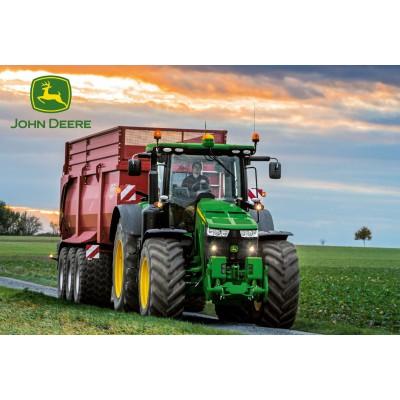 Puzzle  Schmidt-Spiele-56043 John Deere Traktor 8370R