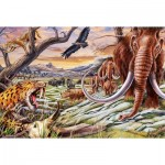 Puzzle  Schmidt-Spiele-56251 Tiere der Eiszeit