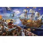 Puzzle  Schmidt-Spiele-56252 Abenteuer mit den Piraten