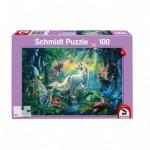 Puzzle  Schmidt-Spiele-56254 Im Land der Fabelwesen