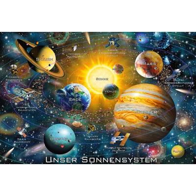 Puzzle  Schmidt-Spiele-56308 Unser Sonnensystem