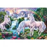 Puzzle  Schmidt-Spiele-56331 Traumhafte Einhörner