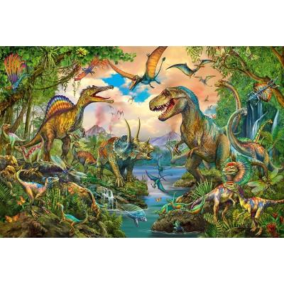 Puzzle  Schmidt-Spiele-56332 Wilde Dinos
