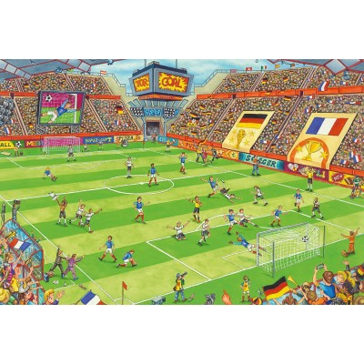 Puzzle  Schmidt-Spiele-56358 Fußballstadion