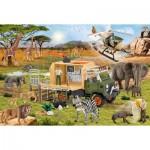 Puzzle  Schmidt-Spiele-56384 Abenteuerliche Tierrettung