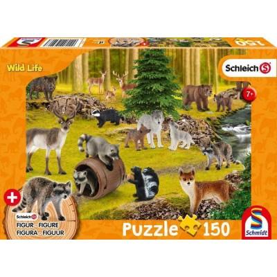 Puzzle  Schmidt-Spiele-56406 Wild Life