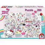 Puzzle  Schmidt-Spiele-56410 Kittys Welt