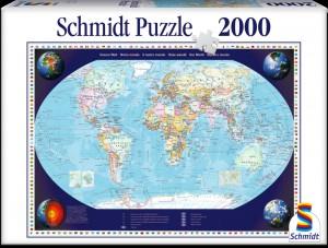 Puzzle  Schmidt-Spiele-57041 Unsere Welt