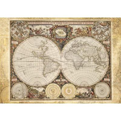 Puzzle  Schmidt-Spiele-58178 Antike Weltkarte