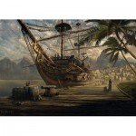 Puzzle  Schmidt-Spiele-58183 Schiff vor Anke