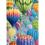 Puzzle  Schmidt-Spiele-58286 Bunte Ballone im Himmel