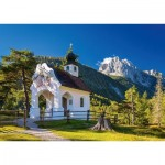 Puzzle  Schmidt-Spiele-58318 Kapelle an der Wettersteinspitze