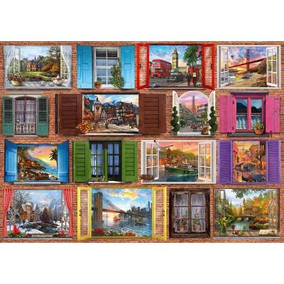 Puzzle  Schmidt-Spiele-58325 Fenster auf!