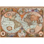 Puzzle  Schmidt-Spiele-58328 Antike Weltkarte