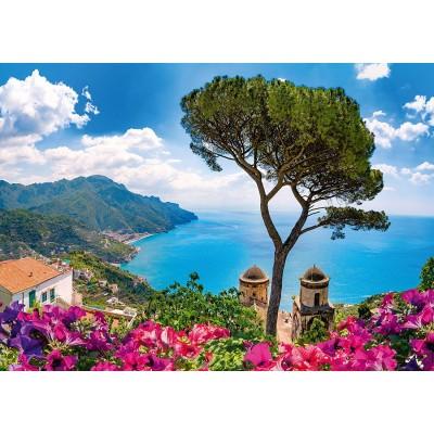 Puzzle  Schmidt-Spiele-58329 Blick über Die Amalfiküste