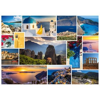 Puzzle  Schmidt-Spiele-58338 Mach mal Urlaub in Griechenland