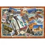 Puzzle  Schmidt-Spiele-58343 Grüße aus aller Welt