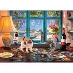 Schmidt-Spiele-58344 Am Puzzle-Tisch