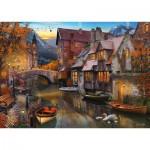 Puzzle  Schmidt-Spiele-58355 Heimat am Kanal