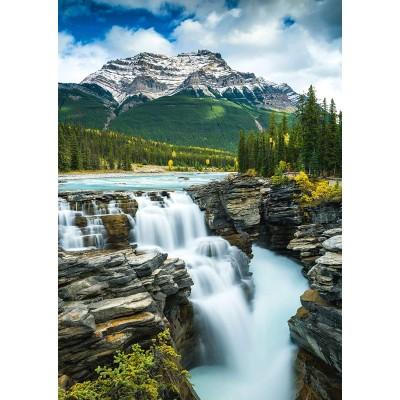 Puzzle  Schmidt-Spiele-58360 Athabasca Wasserfall, Kanada
