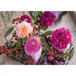 Puzzle  Schmidt-Spiele-58369 Beeren und Blumen